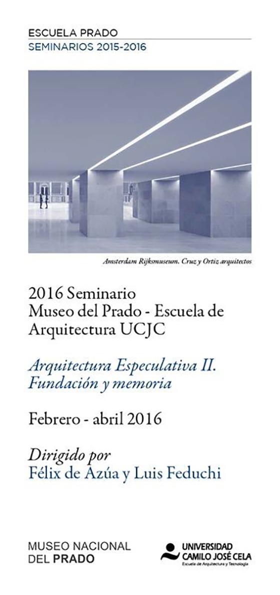 Seminario arquitectura especulativa delegaci n de for Escuela tecnica superior de arquitectura
