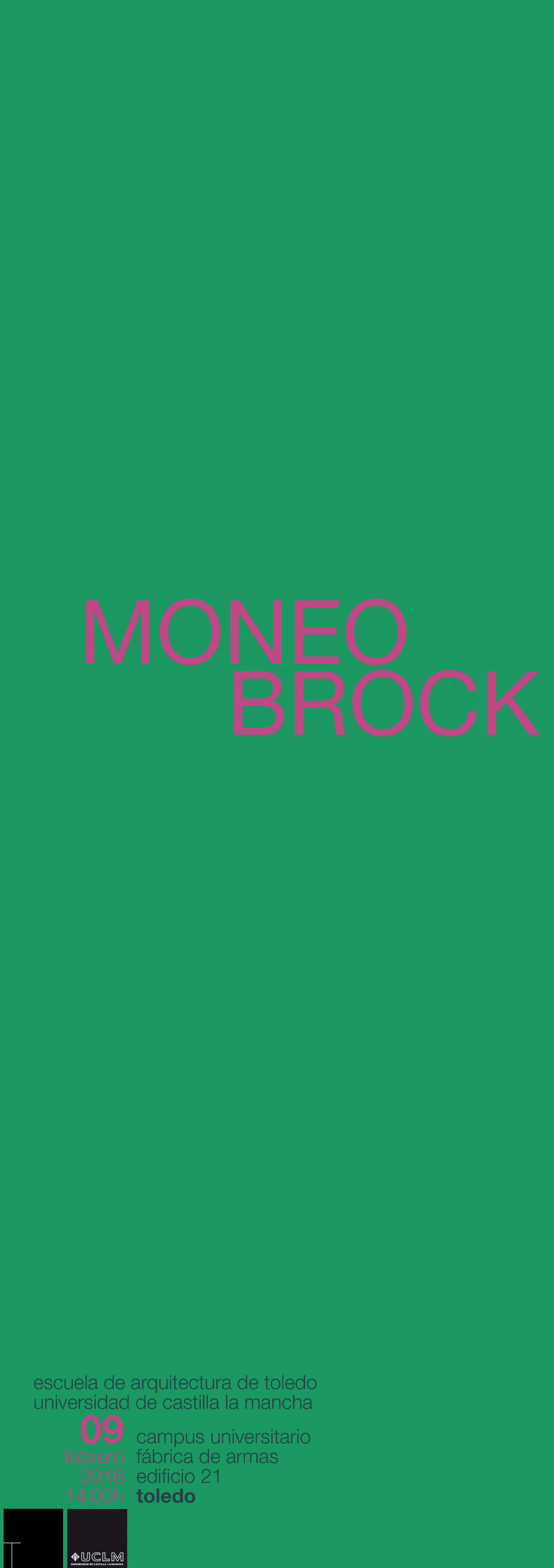 Moneo brock por bel n moneo delegaci n de alumnos de for Moneo brock