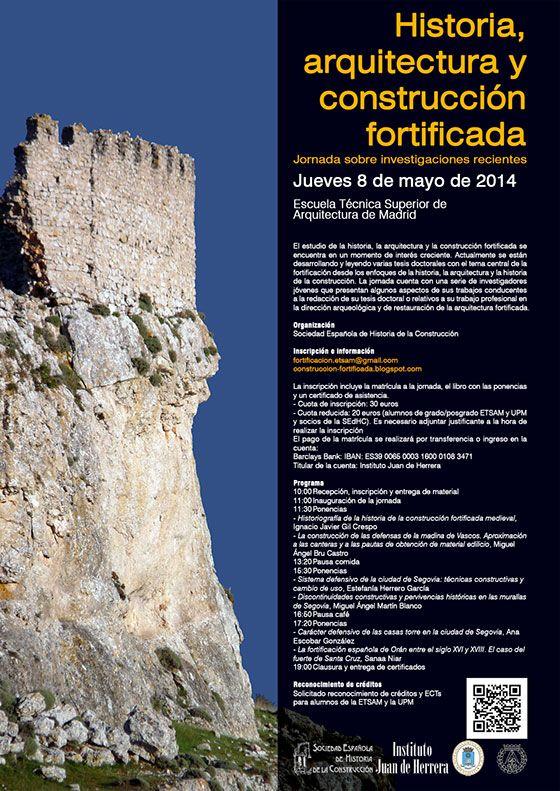 Jornada sobre construcci n fortificada delegaci n de for Escuela tecnica superior de arquitectura