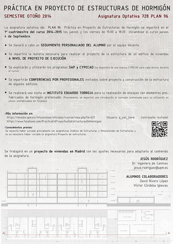 Asignaturas delegaci n de alumnos de la escuela t cnica for Asignaturas arquitectura