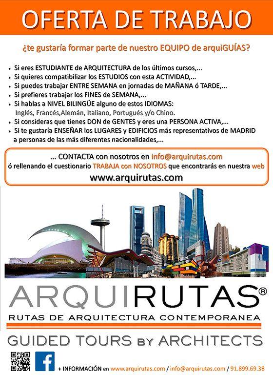 Ofertas de trabajo delegaci n de alumnos de la escuela - Trabajo de arquitecto en madrid ...